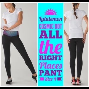 Lululemon Cosmic Dot All the Right Places Pant 4